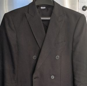Reiss 36 Double-Breasted Blazer, Linen + Mohair